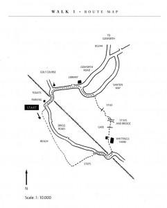 Walk 1 map