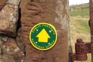 Walk 1.31 The footpath is well marked