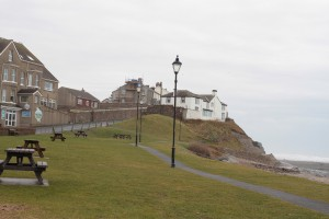 Walk 1.2 Onto the sea front to the promenade